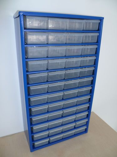 48 Drawer Small Parts Storage Metal Frame Cabinet Ebay