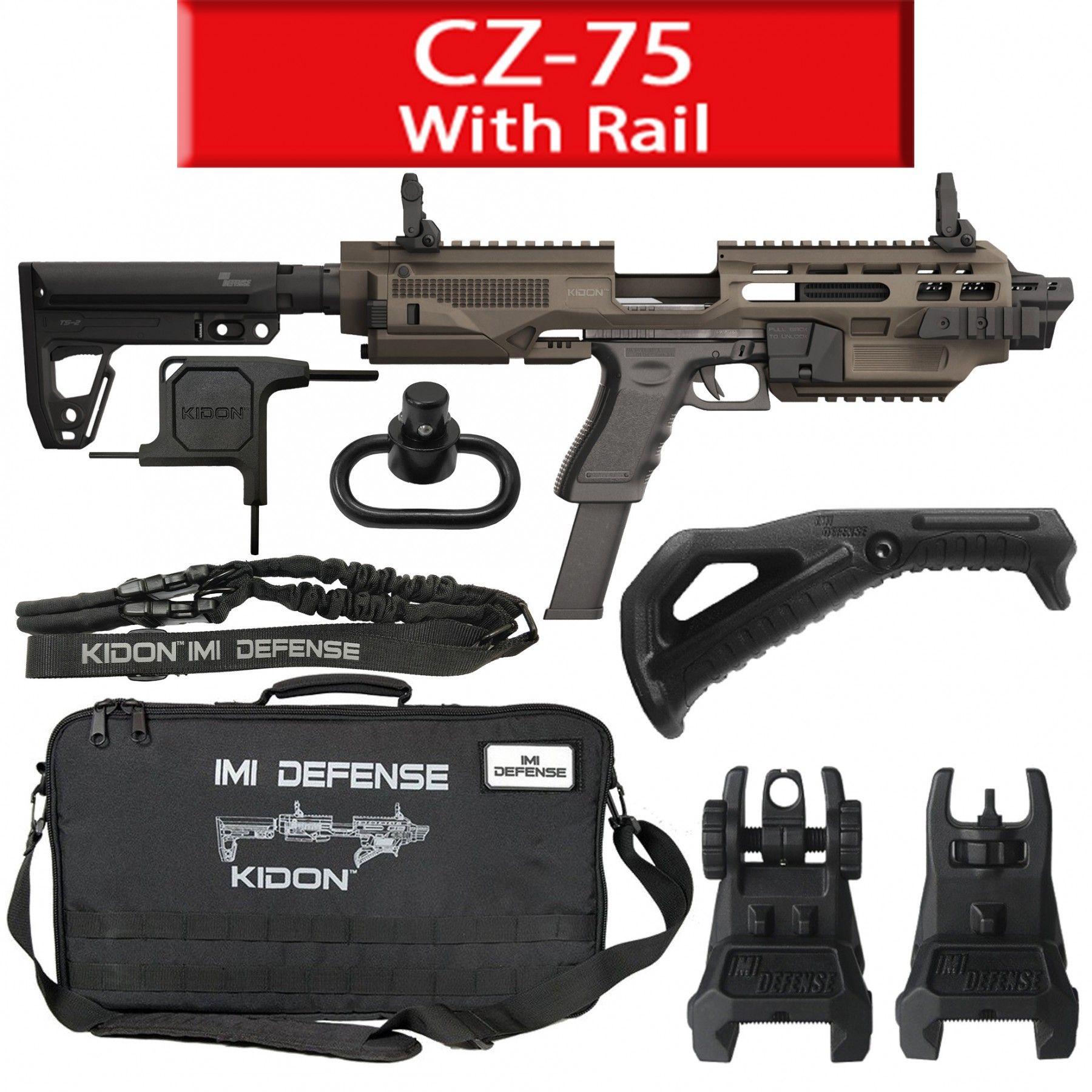 IMI Defense KIDON Iinnovative Pistol to Carbine Platform for
