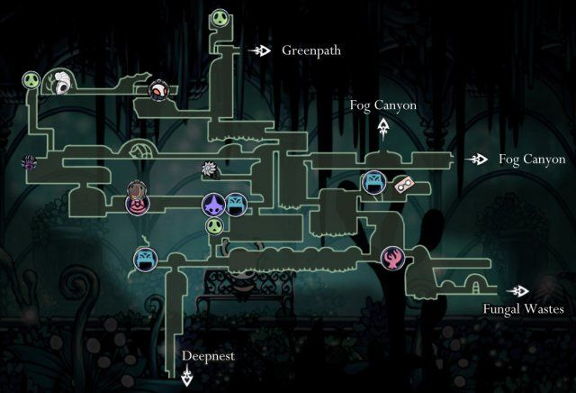 Mapa Completo Hollow Knight.Hollow Knight Maps Of Hallownest Em 2019