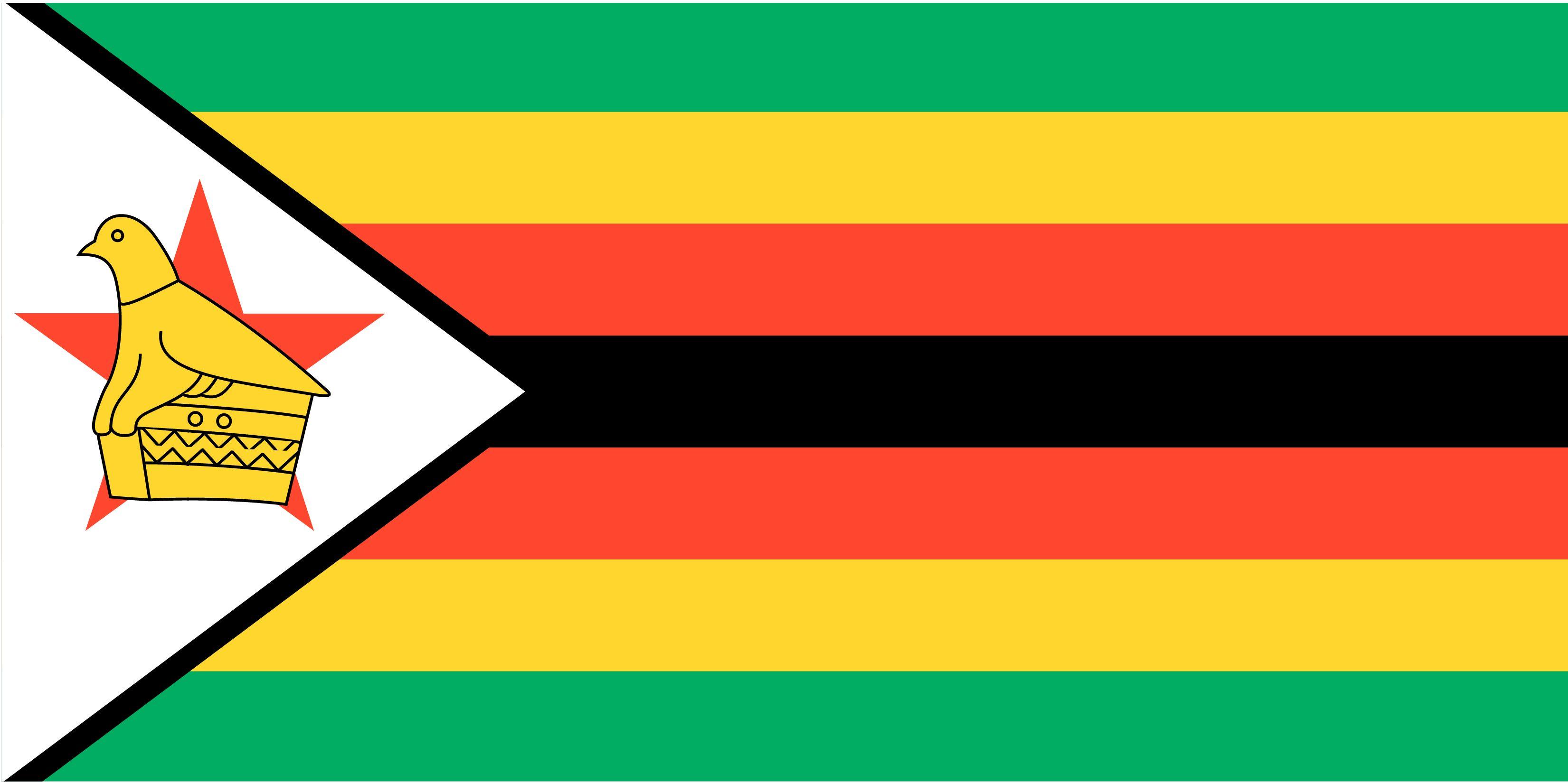 Zimbabwe Flag Zimbabwe Flag Flag Vector Flag