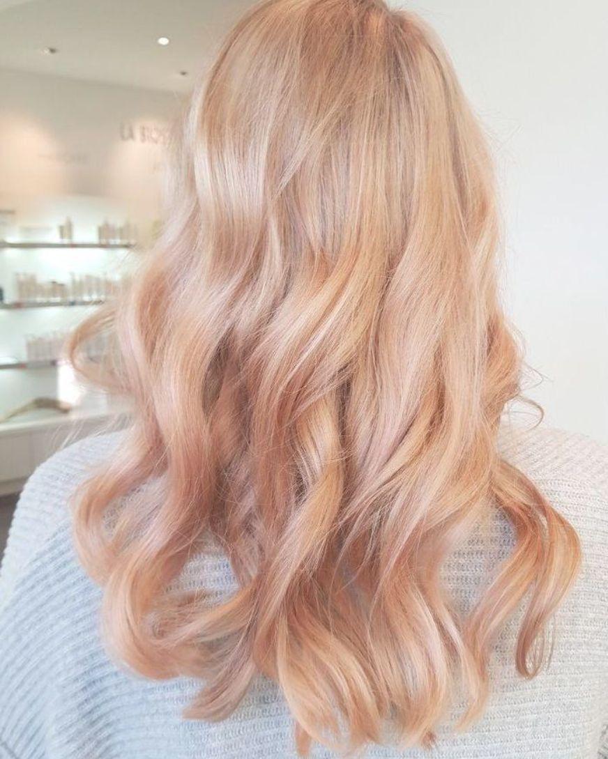 Light Peachy Blonde Blorange Hair Strawberry Blonde Hair Color Strawberry Blonde Highlights Blorange Hair