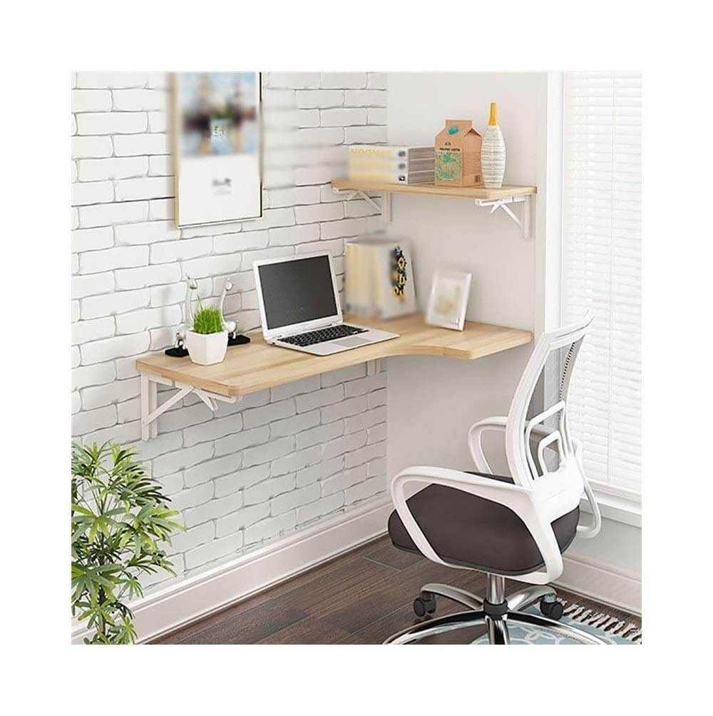 21 Practical Wall Desk Ideas For Serious Space Saving Desks For Small Spaces Small Wall Desk Desk In Living Room