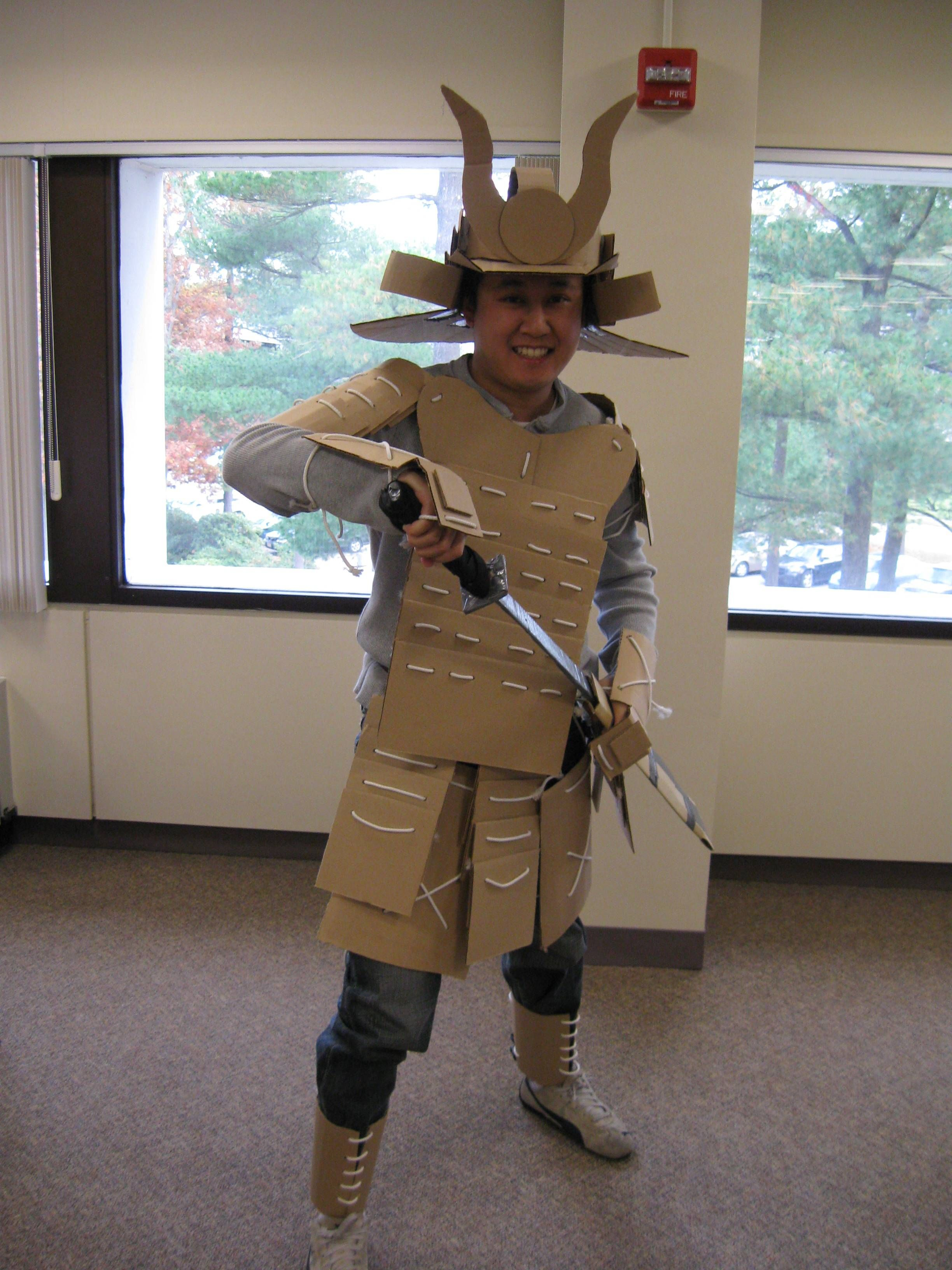 26 DIY Halloween Costumes You Can Create With Cardboard ...