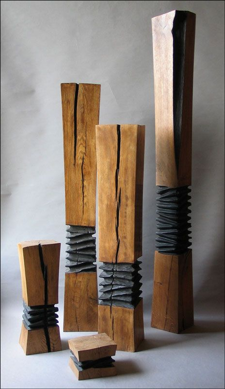 Averly columns baumverwertung pinterest columns - Gartenskulpturen holz ...