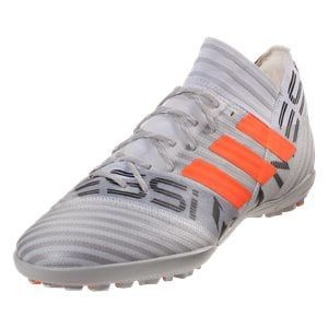 4f09f6059 adidas Nemeziz Messi Tango 17.3 TF Soccer Shoes - White/Solar Orange/Clear  Grey