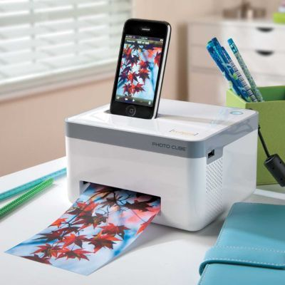 Use this Portable Photo Printer to print high-resolution photos directly from your mobile device!