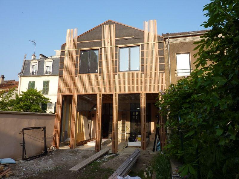 Extension Maison bois à Montreuil par MAG Architects Bardage en