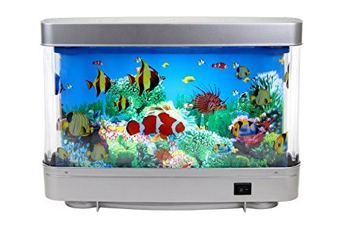 Lightahead Artificial Aquarium Decorative Lamp With Tropical Fish