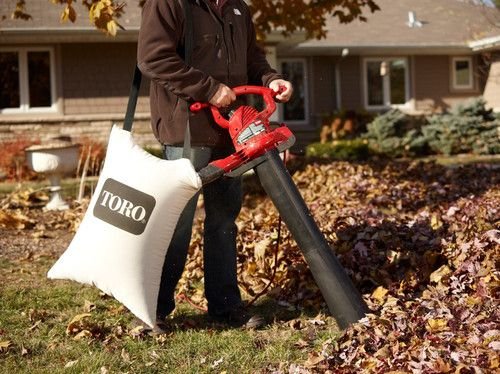 Toro Electric Ultra Leaf Blower Shredder Vac Vacuum Cleanup Metal Impeller Blowers Electric Leaf Blowers Leaf Blower