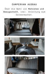 Photo of DIY Camper Ausbau – Matratze, Polster und Bezug: Schritt für Schritt – Anleitun…