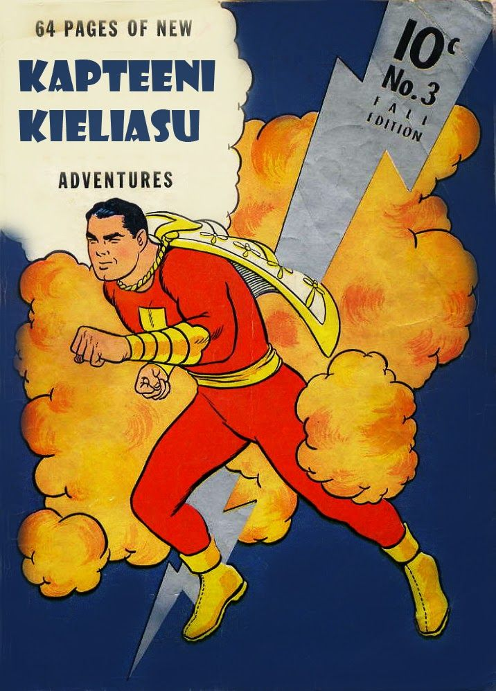 Sininen zeppeliini: Suomen kielen supersankarit