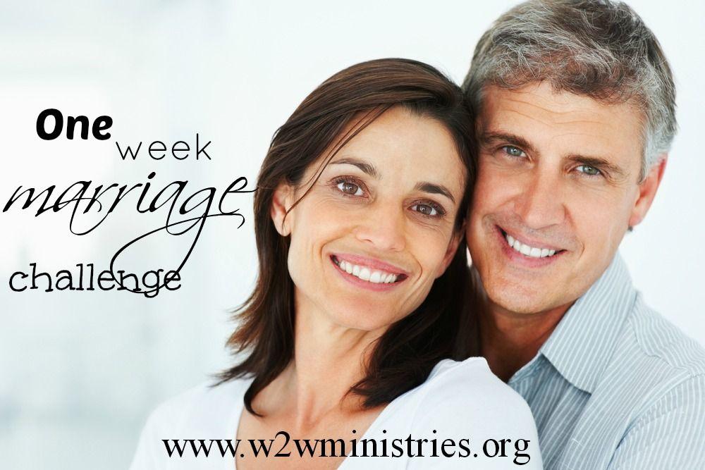 One week #marriage challenge