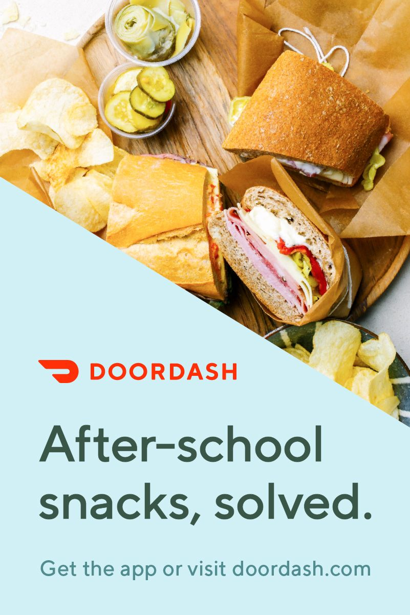 Doordash offers a selection of more than 250000 menus