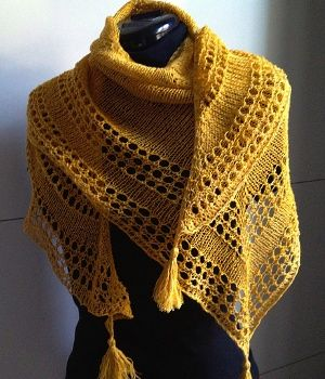 modele chale tricot gratuit