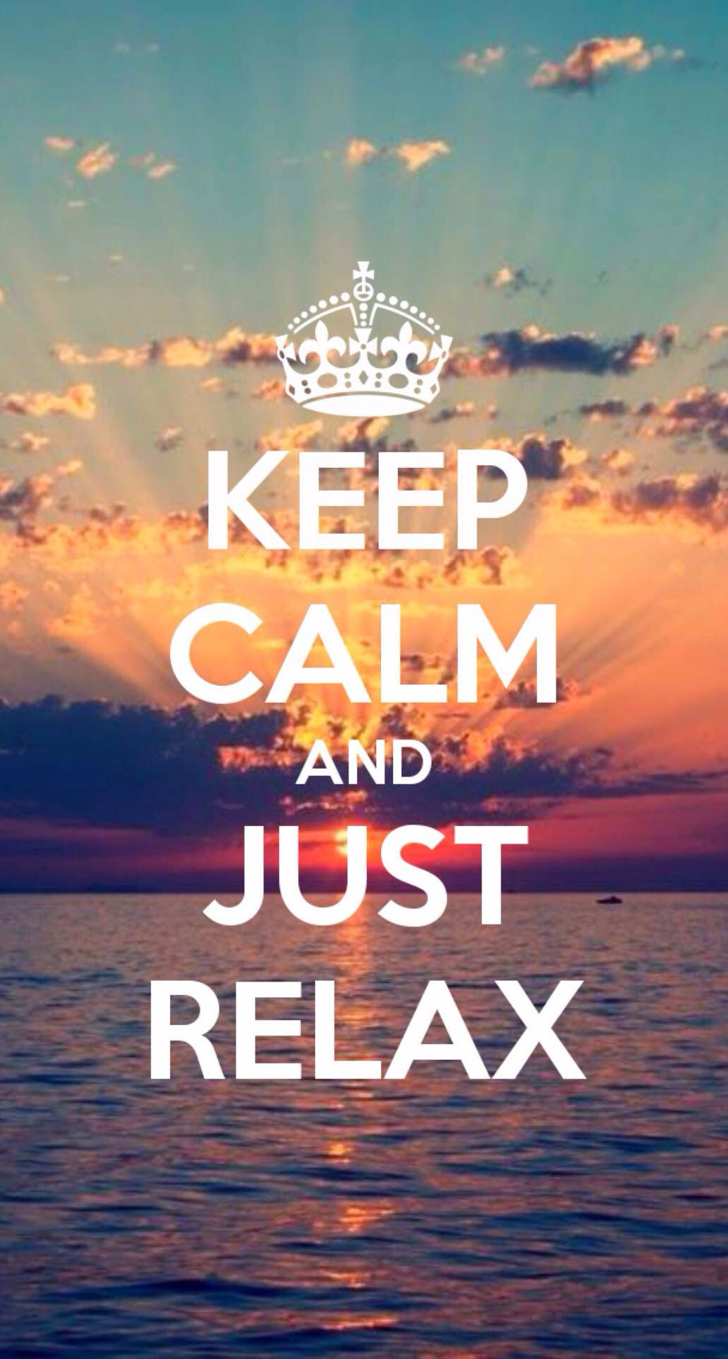Keep Calm and just relax Keep calm quotes, Calm quotes