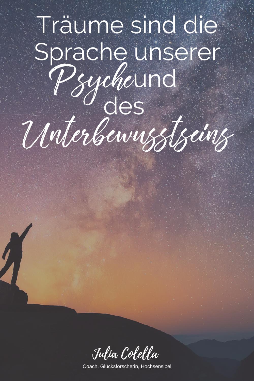 Traume Sind Die Sprache Unserer Psyche Und Des Unterbewusstseins Traumdeutung Unterbewusstsein Seele