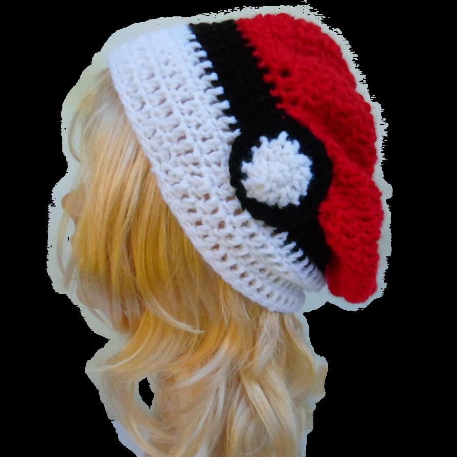 Gorro pokebola pokemon by SakuraAccesorios0 on DeviantArt | Crochet ...