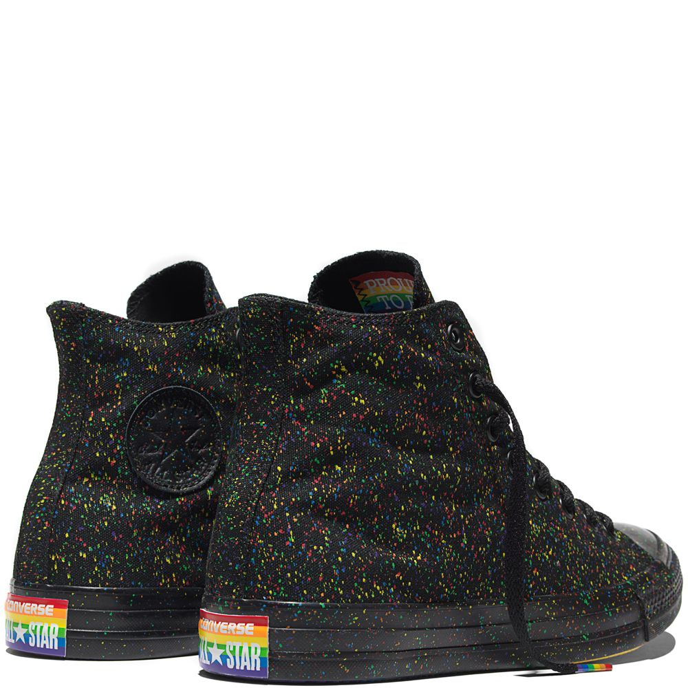 Converse is proud to unveil a rainbow-colored set of Chuck Taylor All Stars  this spring for the 2016 Pride collection. The colorful new Chucks pay  tribute ...