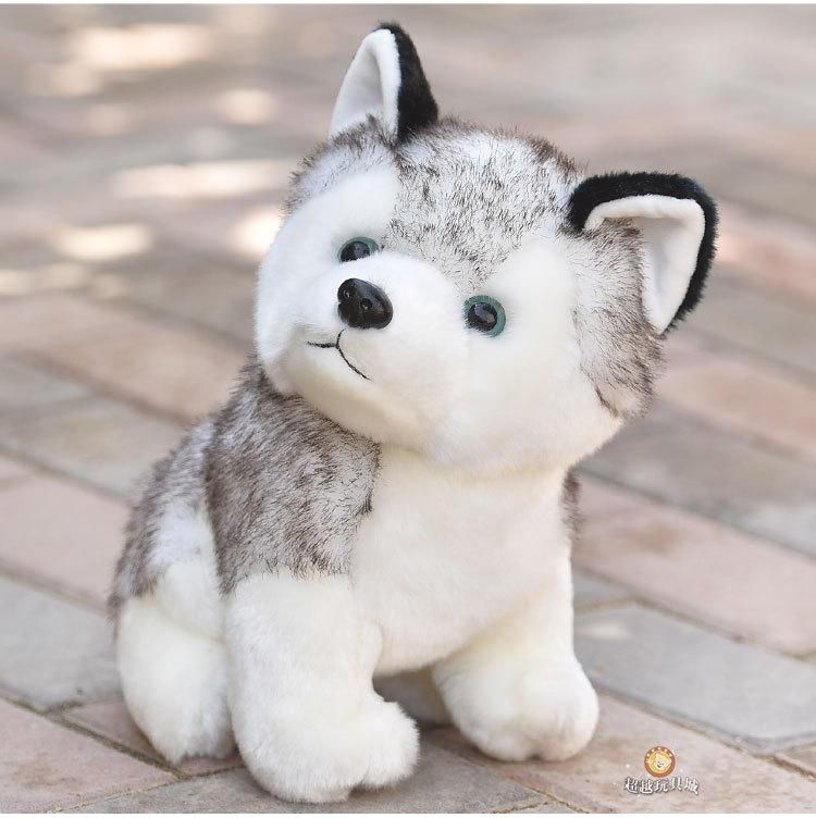 Idea By Bella L On Doll In 2020 Toy Puppies Little Husky Plush Dog