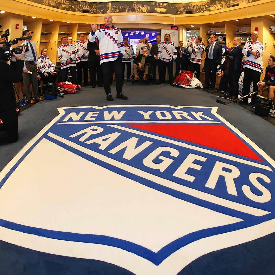 """New York Rangers on Instagram """"The '94 team meets the"""