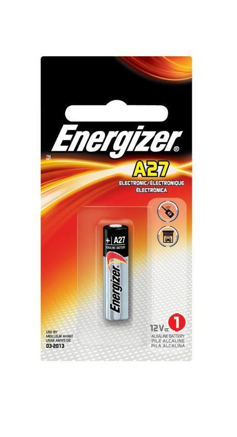 Energizer 12v A27 Zero Mercury Alkaline Energizer Alkaline Battery Electronics