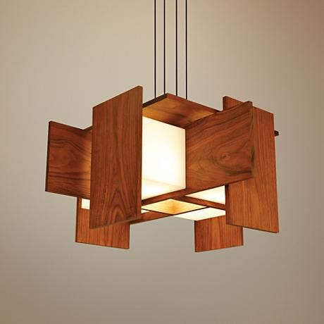 Cerno S Muto Contemporary Led Pendant Light Is The Perfect Combination Of Gorgeous And Ambient Shadows Thanks To An Oiled Walnut Finish Wood Body