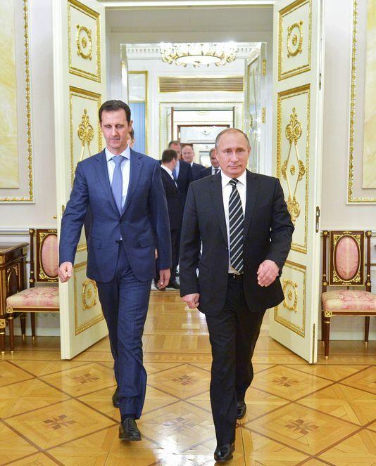 A toi l'honneur !: Quand Assad rencontre Poutine...