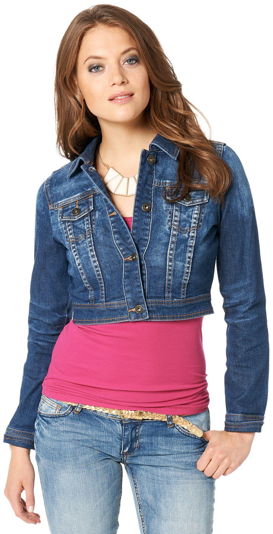 2016 Kot Ceket Modelleri ve Kombinleri Blue-Denim-Jacket-Women ...