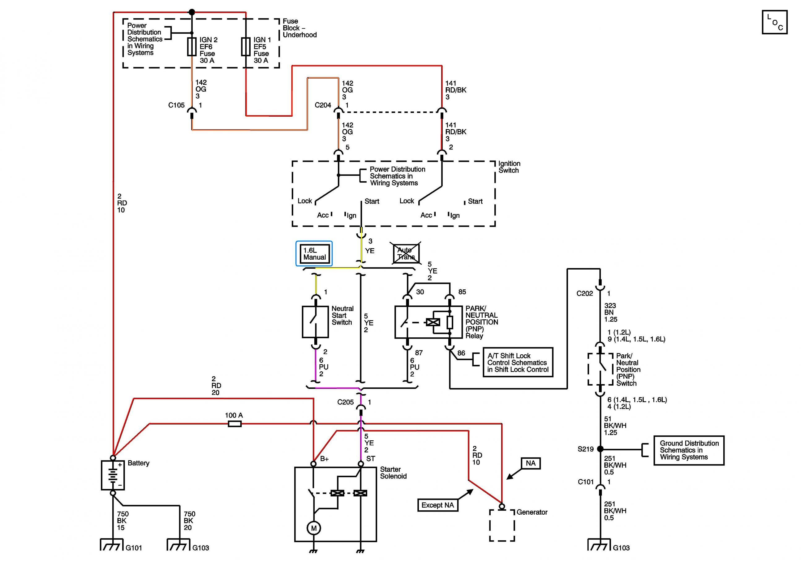 2005 Aveo Starter Wiring Connections Help Please Inside