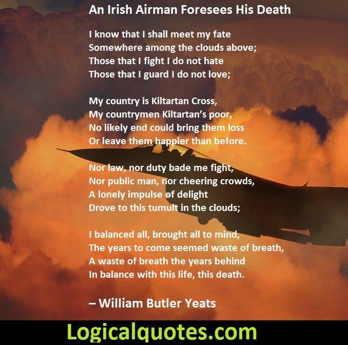 william butler yeats death