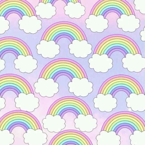 Rainbow Background And Wallpaper Image Rainbow Wallpaper Unicorn Wallpaper Cute Wallpapers