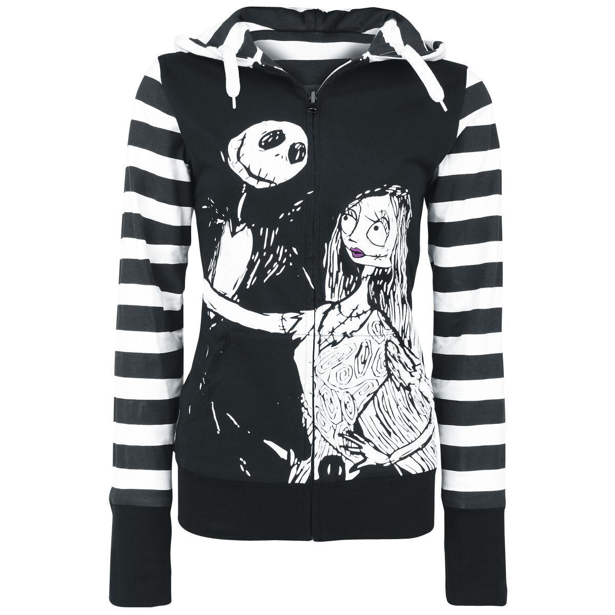 Nightmare Before Christmas Hoodie.Sally Reversible Jacket By The Nightmare Before Christmas