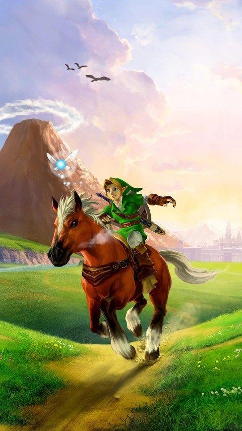 Download The Legend Of Zelda Ocarina Of Time 3d Hd Wallpaper In 480x854 Screen Zelda Fondo De Pantalla Videojuegos Wallpaper Fondo De Arte