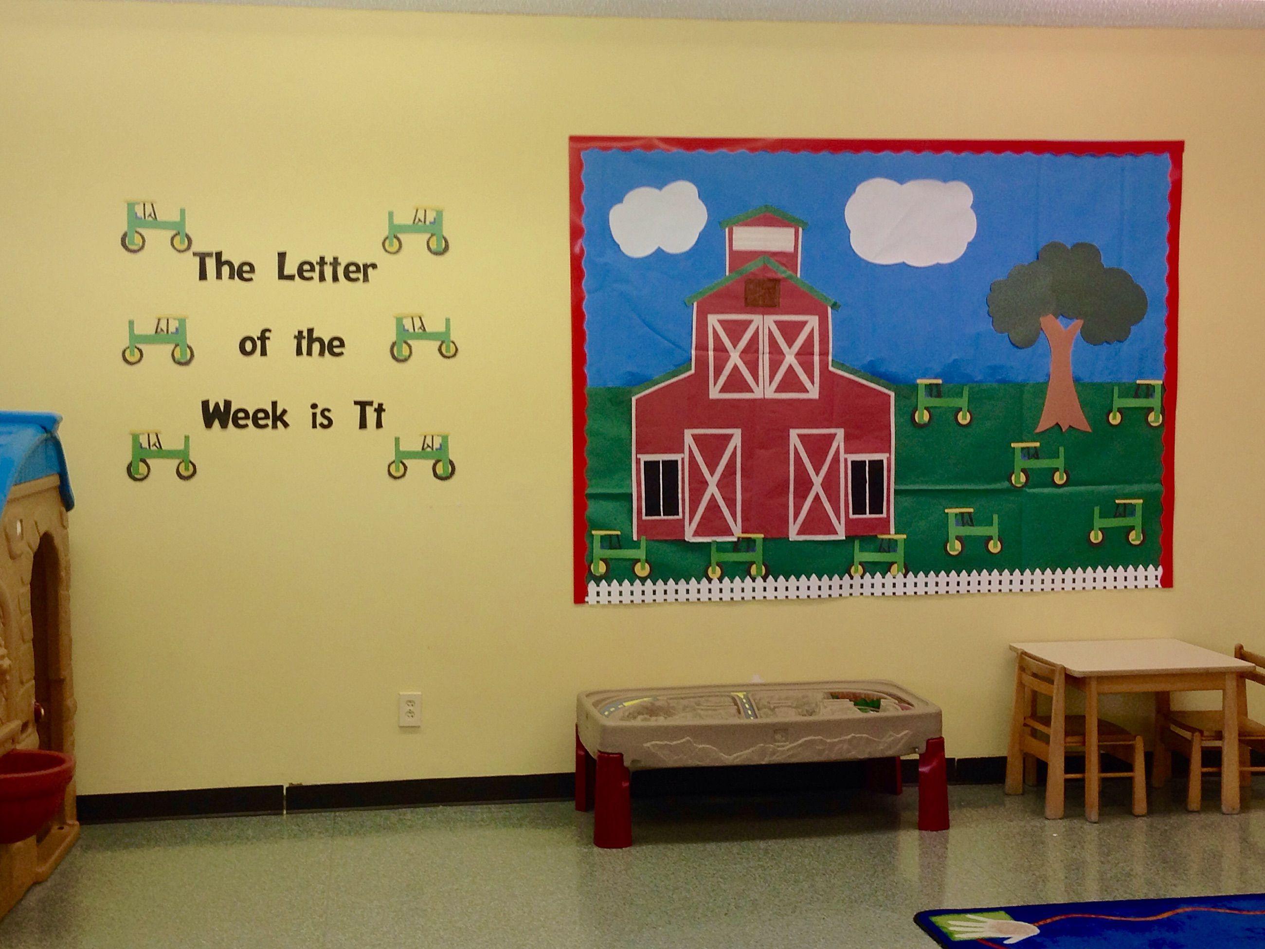 Red Barn Bulletin Board | Classroom Themes | Pinterest | Red barns ...