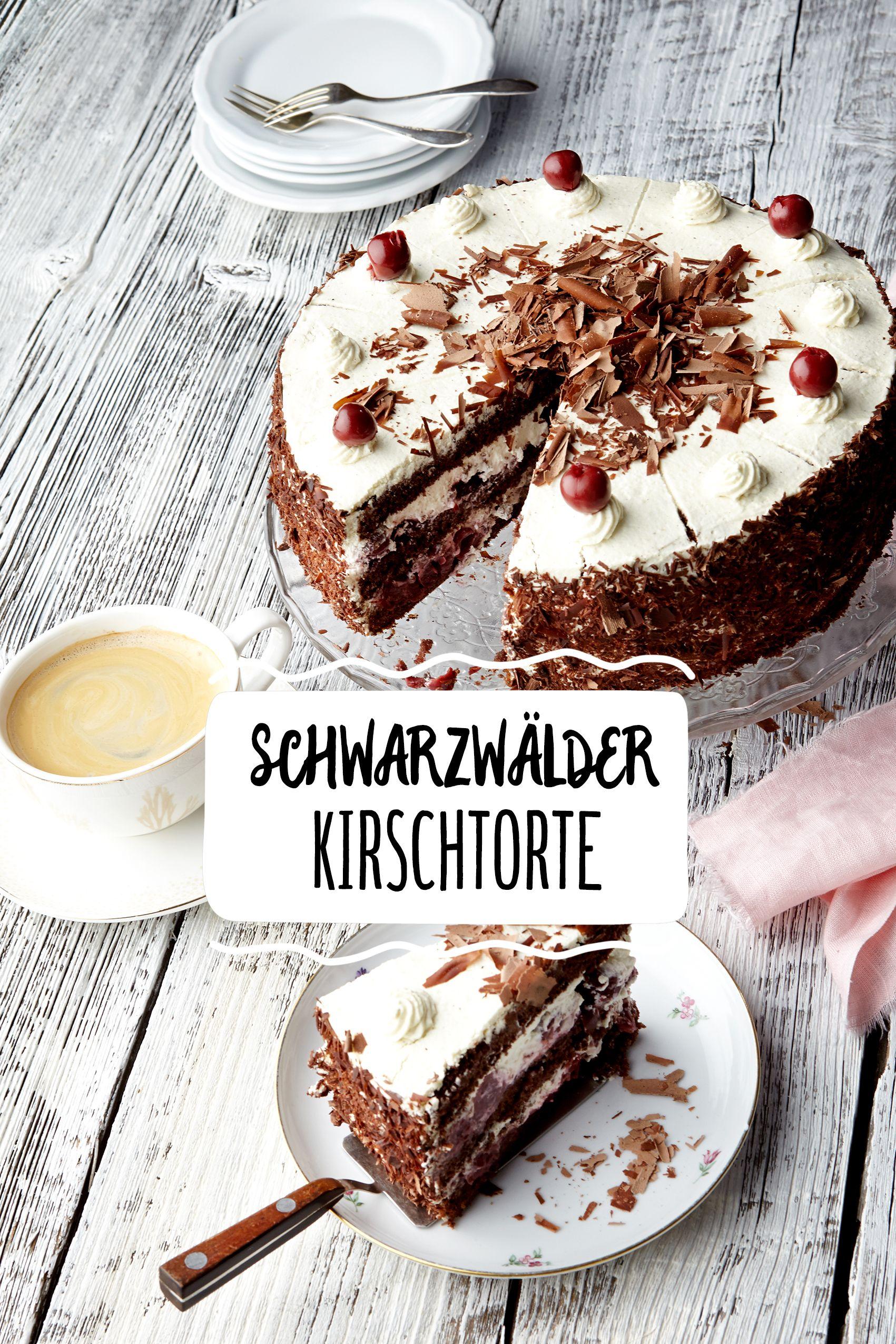 Schwarzwalder Kirschtorte Rezept In 2019 Hochzeitstorten Mehr