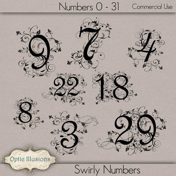 Swirly Fancy Numbers