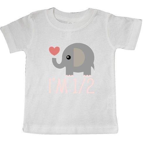 inktastic Cute Elephant Baby Elephant Elephant on Toddler Long Sleeve T-Shirt