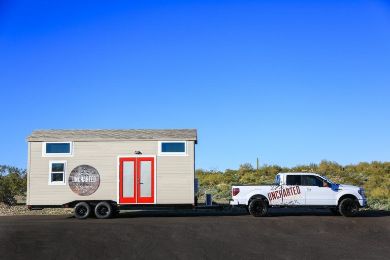 Tiny Dream Home On Wheels With Two Sleeping Lofts House