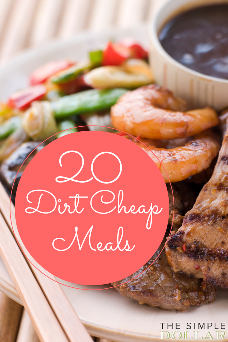 Dirt Cheap Simple Dinners Most Of Which Are Also