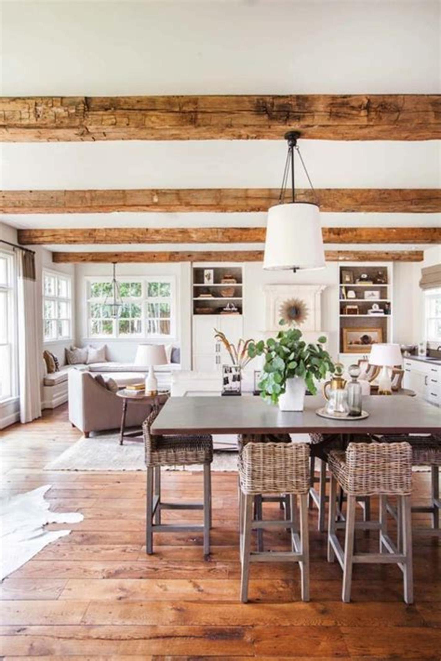 31 amazing modern farmhouse interior design ideas 23