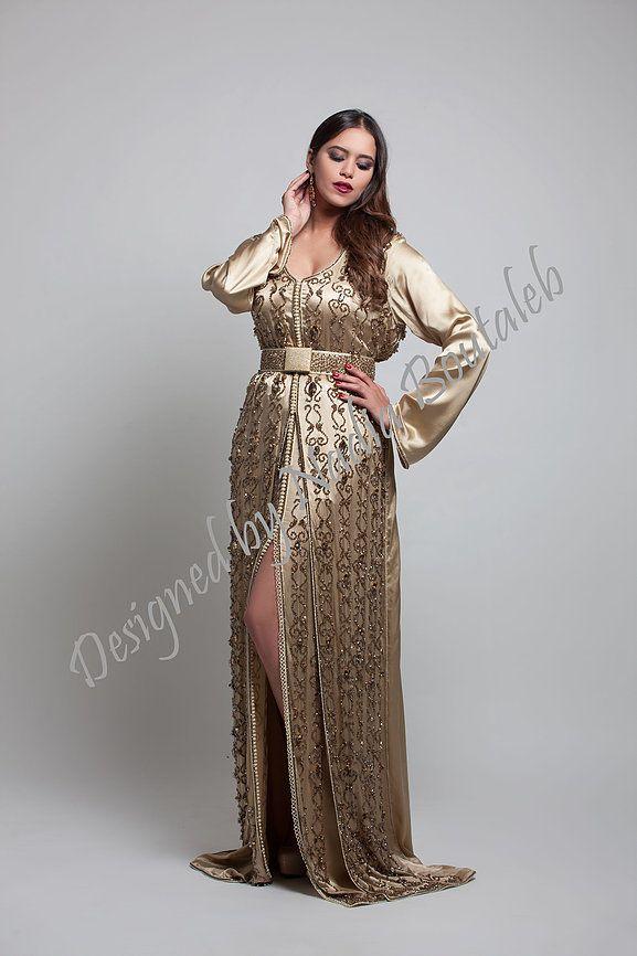 Nadia boutaleb caftan haute couture casablanca fati for Buy haute couture