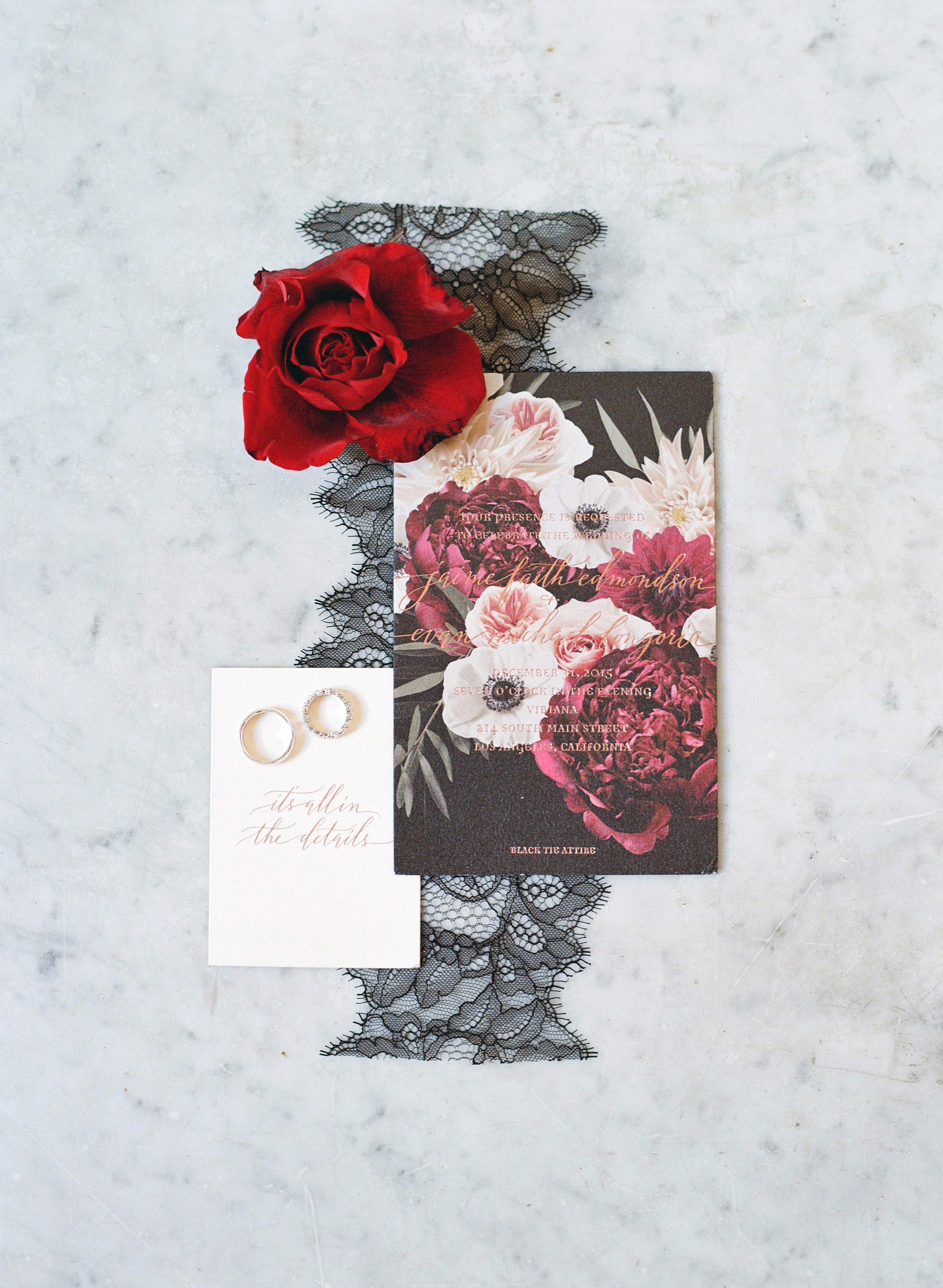 All Your Save-the-Date Questions Answered | Floral invitation ...