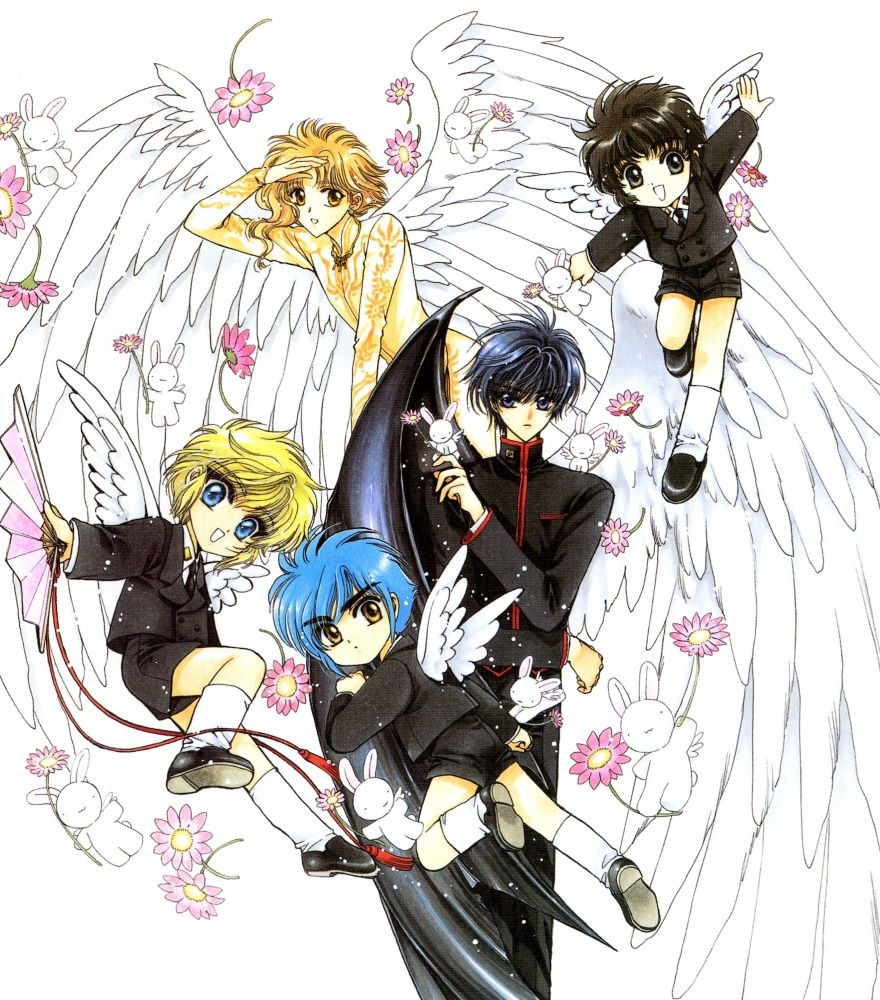 x1999, CLAMP School Detectives, Wish. CLAMP (With images