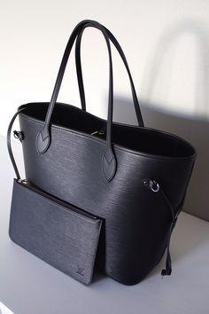 Louis Vuitton Neverfull Epi Black | borsa | Pinterest | Lv ...