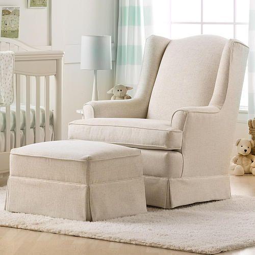 Best Chairs Sutton Swivel Glider Linen Best Chairs