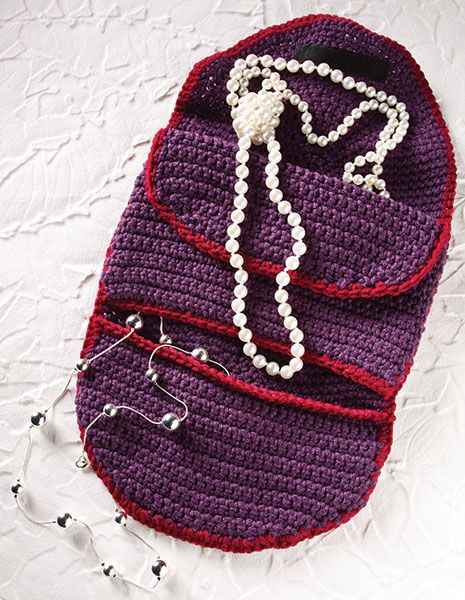 Crochet Jewelry Organizer free patternthis would be cute to hold