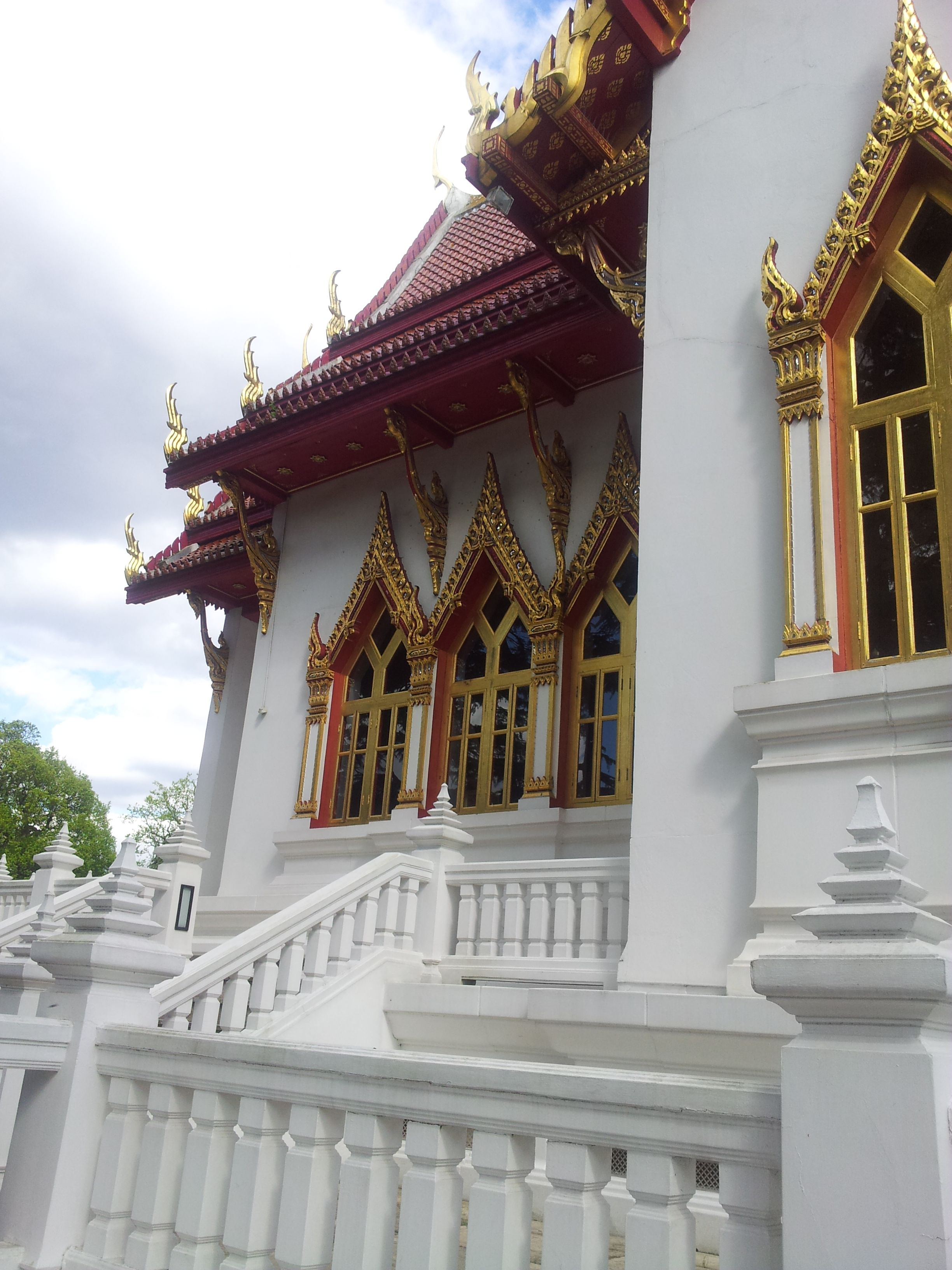 Thai Buddhist Temple in Wimbledon (South West London).