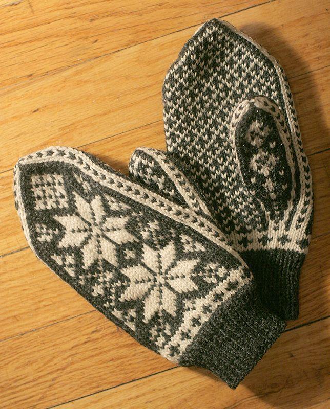 knitstuff | Norwegian knitting, Mittens, Pattern