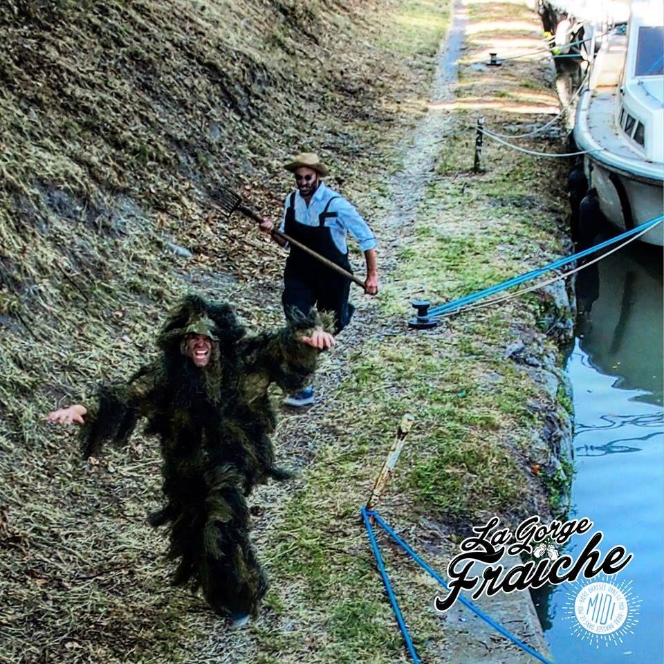 AIME VA TATANER TRAMOUNTAN !  #aime #fight #lagorgefraiche #tramontana #beer #craftbeer #bière #artisanale #midi #sud #south #france #canal #du #midi #poilhes #monster