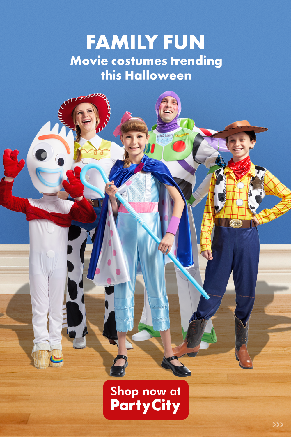 Transform Into Your Favorite Disney Character This Halloween With Party City Shop Toy Story Trends For The Wh Toy Story Halloween Toy Story Halloween Costume Cute Halloween Costumes